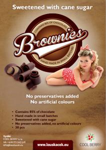 Brownies single packed